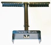Thunder Mounts can be mounted above or below the cealing or supports / joists.